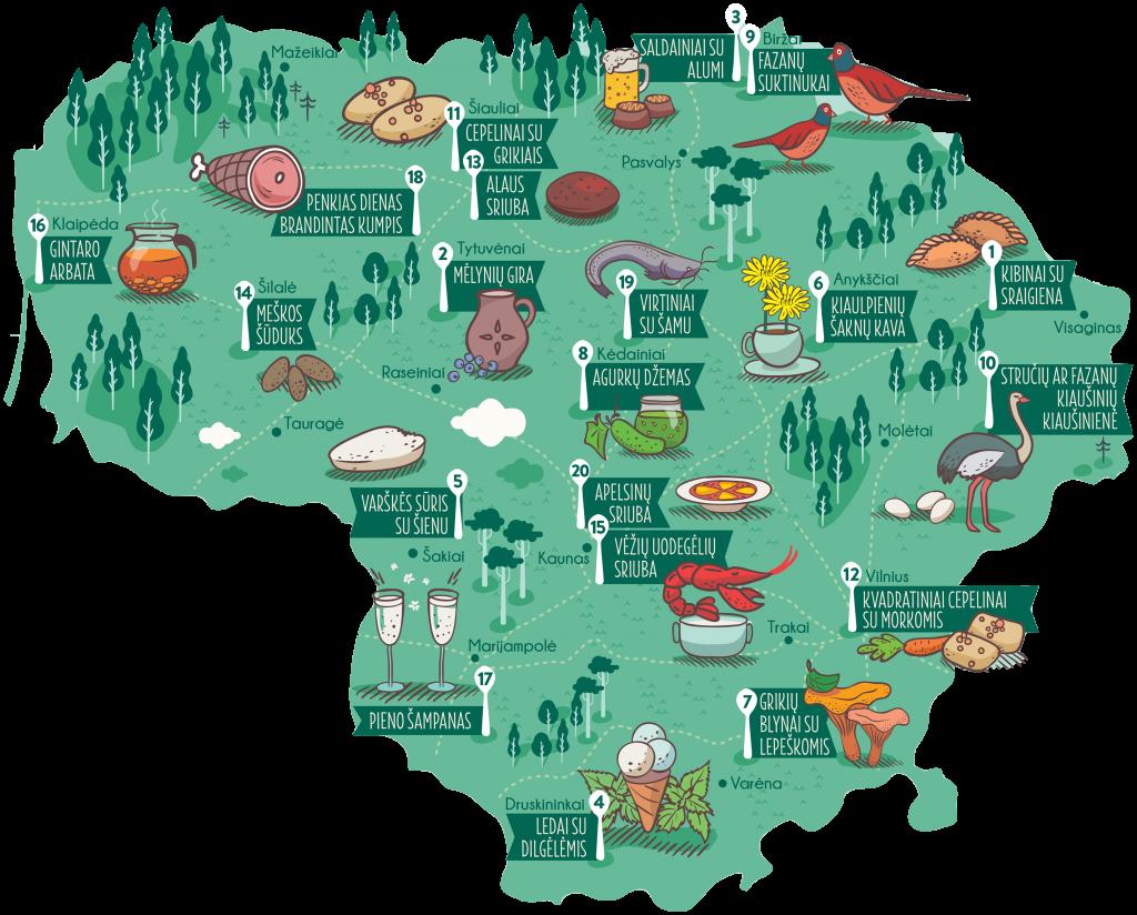 festiwale gastronomiczne na Litwie