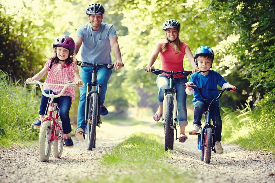 Druskininkuose daug dviračių takų.
