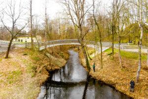 Lenktas tiltelis