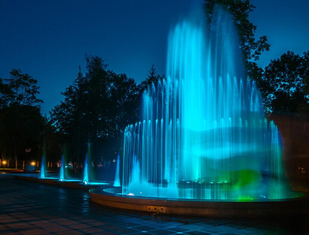 Muzikinis fontanas Druskininkai