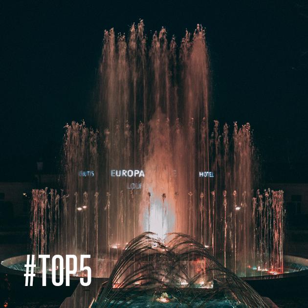 Muzikinis fontanas Druskininkuose