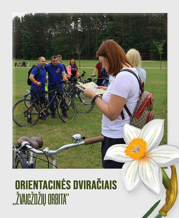Orientacinės dviračiais Druskininkuose