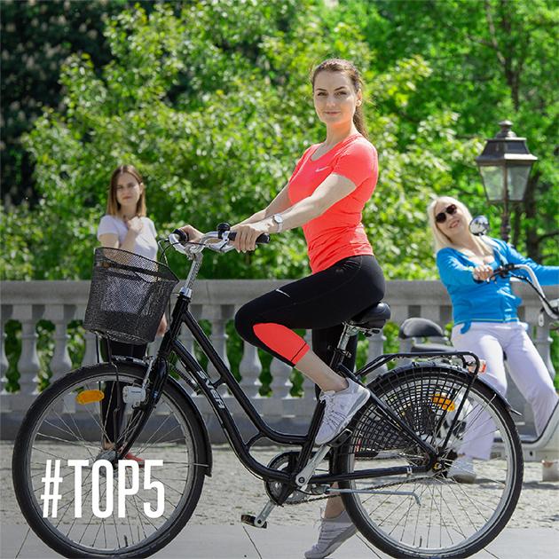 Su dviračiais po Druskininkus